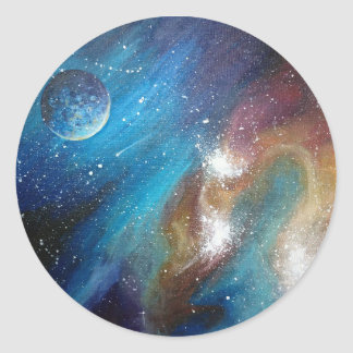 Colorful Galaxy Stickers