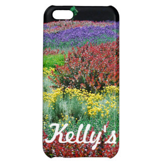 Colorful Garden Case For iPhone 5C