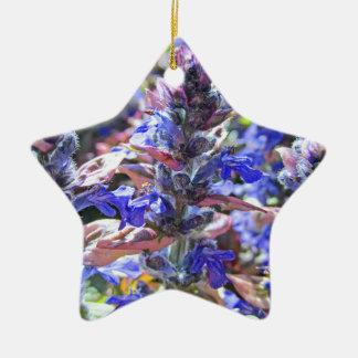 Colorful Garden Ceramic Ornament