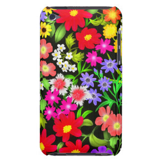 Colorful Garden Flowers iPod Touch Case