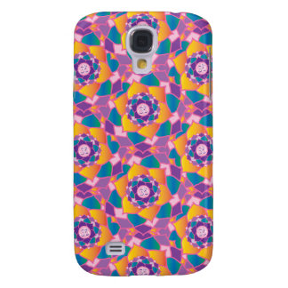 Colorful Garden of the Chakras Yoga Om Inspiration Galaxy S4 Cover
