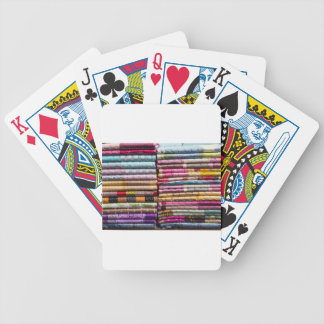 Colorful Garments Bicycle Playing Cards