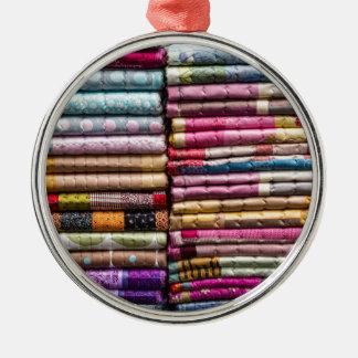 Colorful Garments Metal Ornament