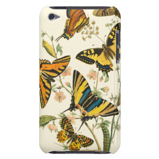 Colorful Gathering of Butterflies and Caterpillars Barely There iPod Case