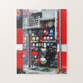 Colorful Gauges on Fire Truck Jigsaw Puzzle