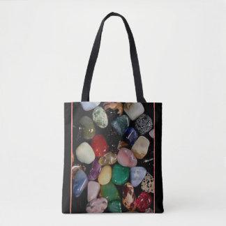Colorful Gem Stones Tote Bag