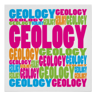 Colorful Geology Posters