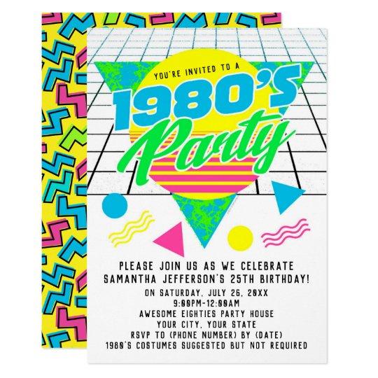 idea 80s birthday invitation or 91 80th birthday invitations with photo