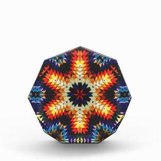 Colorful Geometric Abstract Acrylic Award
