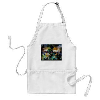 Colorful Geometric Abstract Adult Apron