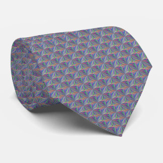 Colorful Geometric Abstract Necktie