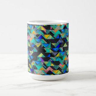 Colorful Geometric Explosion Coffee Mug