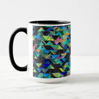Colorful Geometric Explosion Mug