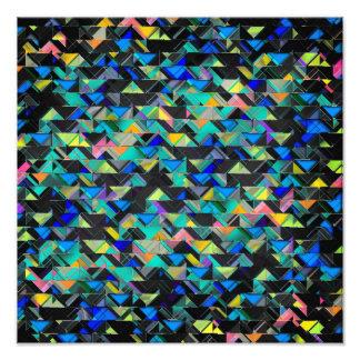 Colorful Geometric Explosion Photographic Print
