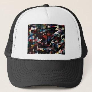 Colorful Geometric Graphic Trucker Hat
