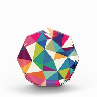 Colorful Geometric Kaleidoscope Award