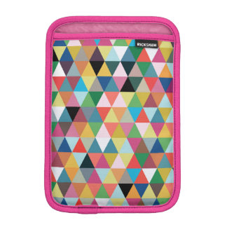 Colorful Geometric Kaleidoscope iPad Mini Sleeve