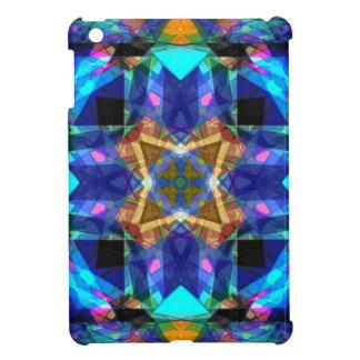 Colorful Geometric Mandala iPad Mini Cover
