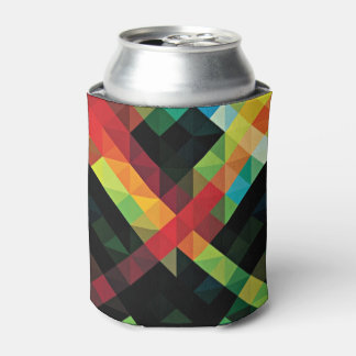 Colorful Geometric Mosaic Pattern Can Cooler