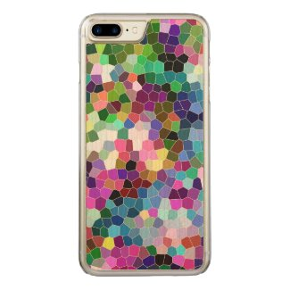 Colorful Geometric Mosaic Pattern