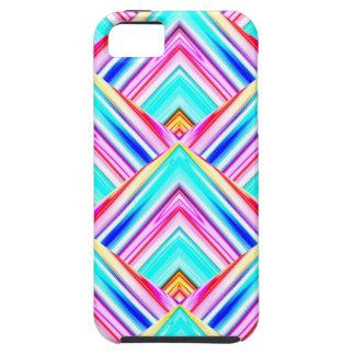 Colorful Geometric Panels iPhone SE/5/5s Case
