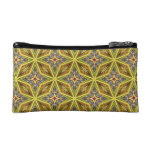 colorful geometric pattern cosmetic bags