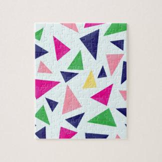 Colorful geometric pattern II Jigsaw Puzzle