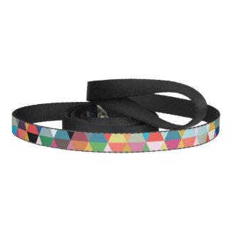 Colorful Geometric Patterned Dog Leash