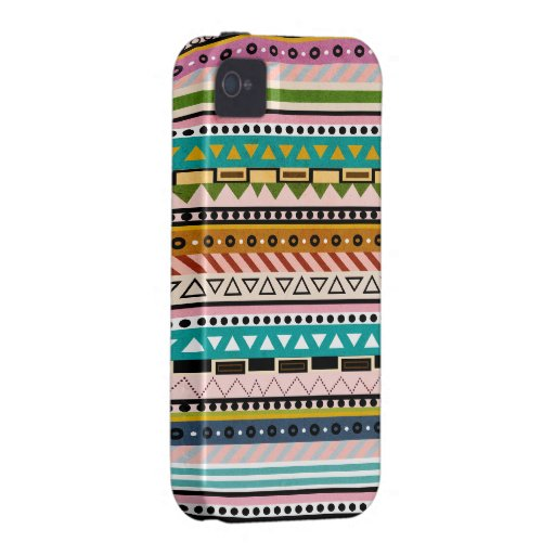 Colorful Geometric Patterns Native iPhone Case Vibe iPhone 4 Covers