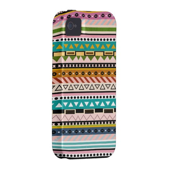 Colorful Geometric Patterns Native iPhone Case