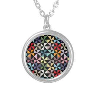 Colorful Geometric Pinwheel Jewelry