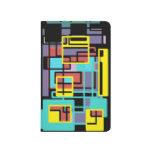 Colorful Geometric Pocket Journal