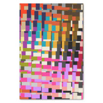 Colorful Geometric Print Tissue Paper
