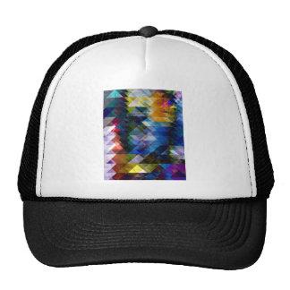 Colorful Geometric Texture Trucker Hat