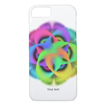 Colorful geometry pattern - iPhone 8/7 case