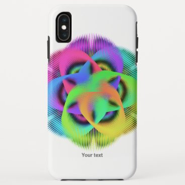 Colorful geometry pattern - iPhone XS max case