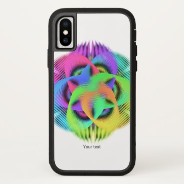 Colorful geometry pattern - iPhone x case