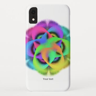 Colorful geometry pattern - iPhone XR case