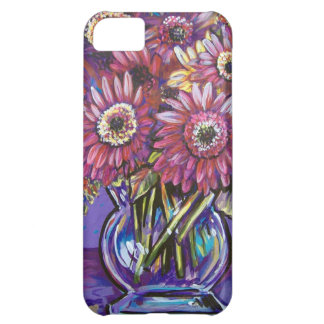 COLORFUL GERBER DAISIES iPhone 5C CASE