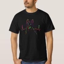 Colorful German Shepherd Dog  Gift Idea T-Shirt