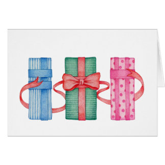 Colorful Gifts CUSTOMIZABLE Blank Card