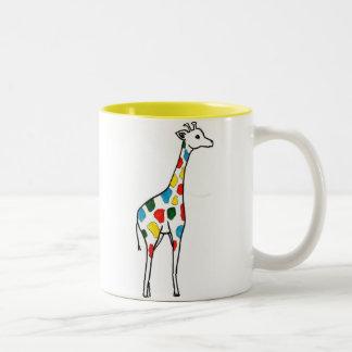 Colorful Giraffe Mug