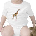 Colorful Giraffe Tshirts