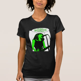 Colorful Girl Rock T-Shirt