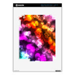 colorful Girly Heart case iPad 3 Skin