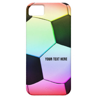 Colorful Girly Soccer | Football iPhone SE/5/5s Case