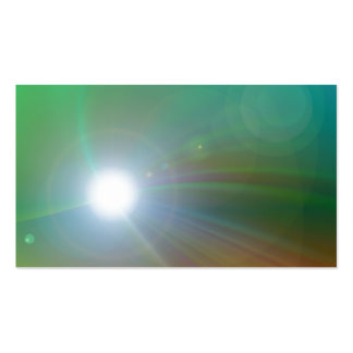 Colorful Glare Business Card