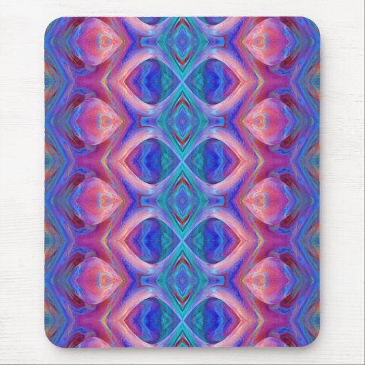 Colorful Glass Abstract Mousepad