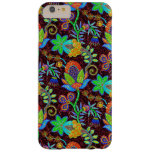 Colorful Glass Beads Look Retro Floral Design 2 Barely There iPhone 6 Plus Case