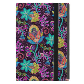 Colorful Glass Beads Look Retro Floral Design 2 Cover For iPad Mini